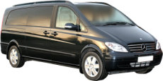 Tours of Plymouth and the UK. Chauffeur driven, top of the Range Mercedes Viano people carrier (MPV)
